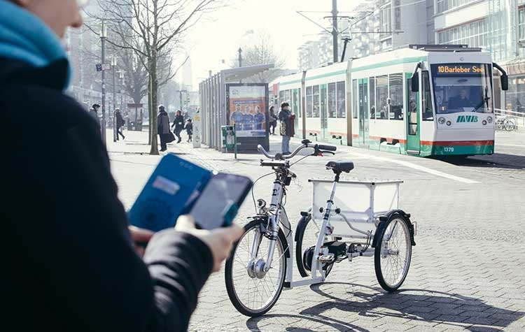 In Germania arriva l'e-bike con guida autonoma