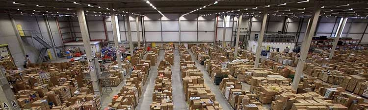 Centro distribuzione Amazon