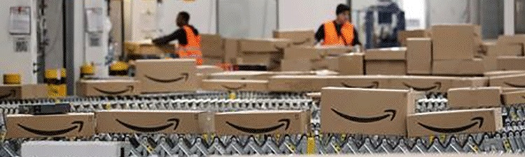 Magazzino logistico Amazon