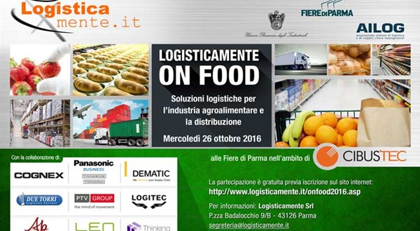 Logisticamente on food al Cibustec