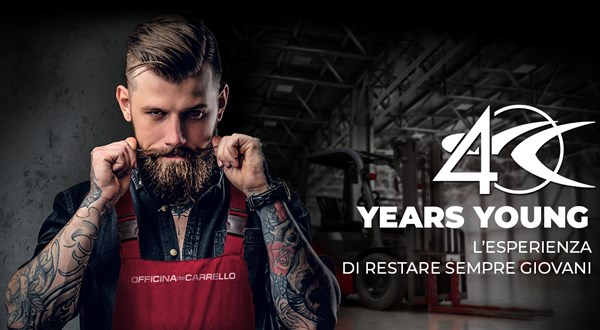 #40yearsyoung: Officina del Carrello